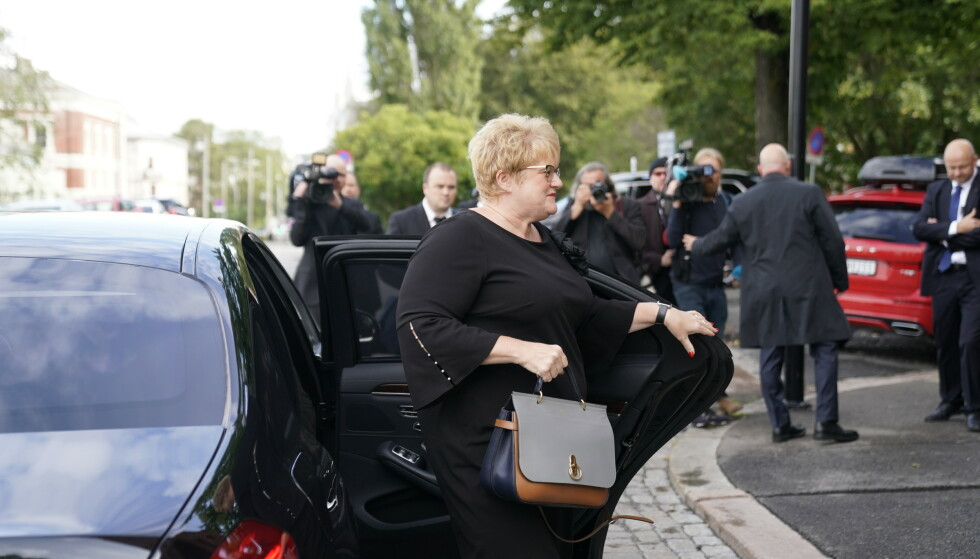 <strong>I KIRKEN:</strong> Kultur- og likestillingsminister Trine Skei Grande. Foto: NTB Scanpix