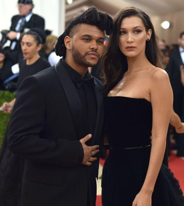 STJERNEPAR: The Weeknd og Bella Hadid gikk hver til sitt i begynnelsen av august, men ifølge en kilde er det ikke usannsynlig at de vil finne tilbake til hverandre igjen. Foto: NTB Scanpix
