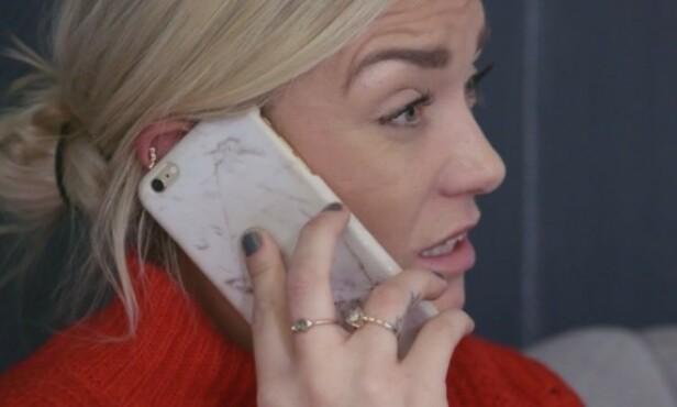 MÅ BE OM HJELP: Drivdal blir nødt til å ringe foreldrene sine for å be om hjelp. Foto: TV3