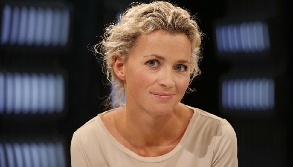 NY EPOKE: NRK-profil Ingunn Solheim er blitt mamma for første gang. Foto: NRK