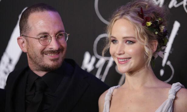 EKS: Før hun møtte Malroney, var Jennifer Lawrence sammen med filmskaper Darren Aronofsky. Foto: NTB Scanpix