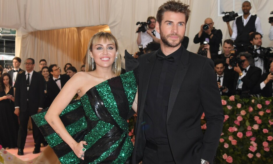 BRUDD: I august kom nyheten om at Liam Hemsworth og Miley Cyrus er separert etter åtte måneder som gift. Offentliggjøringen av bruddet skal ha kommet som lyn fra klar himmel for Liam. Foto: NTB Scanpix