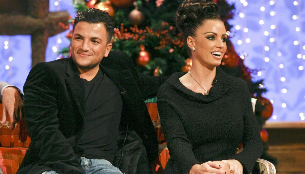 TV-OPPTREDEN: Eksparet besøker programmet «The New Paul O' Grady Show» i 2006. Foto: NTB Scanpix