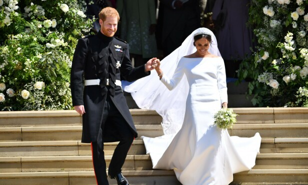 «RASE-SVIKER»: I desember i fjor publiserte BBC et bilde fra en nynazistisk gruppe som foreslo at prins Harry burde bli skutt for å gifte seg med noen med en annen etnisitet. Foto: NTB Scanpix