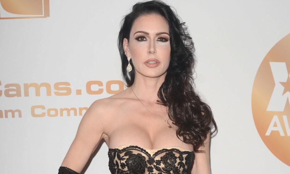 DØD: Pornostjerna Jessica Jaymes har vært aktiv siden 2002, og har spilt i hundrevis av filmer. Nå er hun funnet død. Foto: NTB scanpix