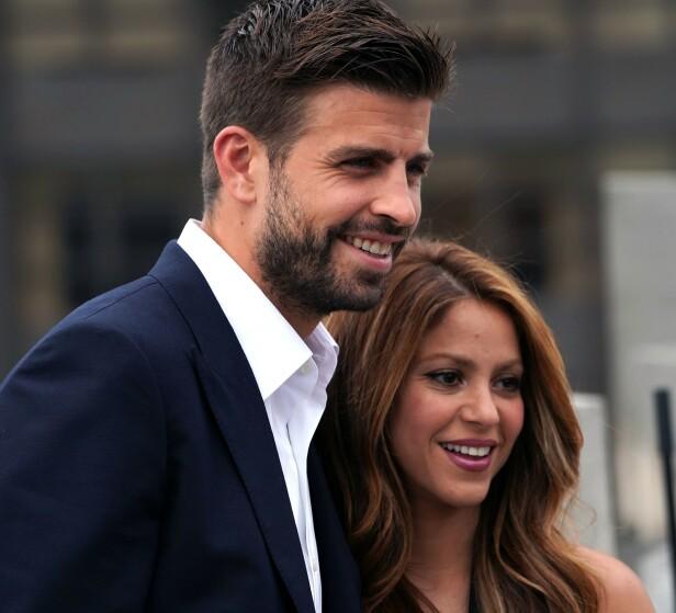 UTRADISJONELLE: I intervjuet beskriver Shakira forholdet mellom henne og Gerard som utradisjonelt. Foto: NTB Scanpix