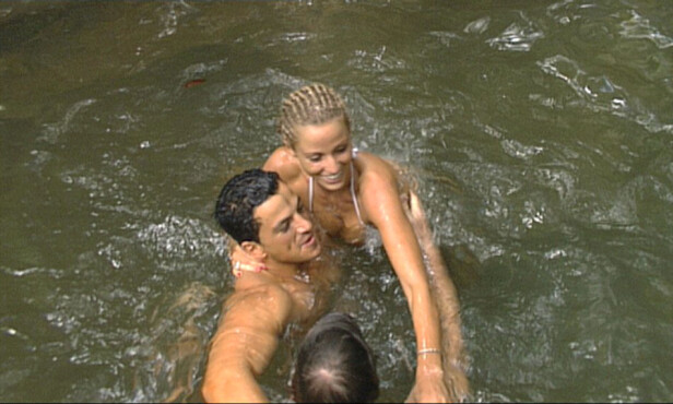 REALITY: Peter Andre og Katie Price møttes på realityprogrammet «I'm a Celebrity... Get Me Out of Here!» i 2004. Foto: NTB Scanpix