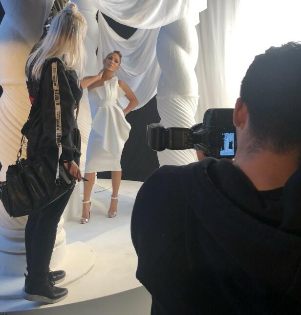 DRØMMEJOBB: Gajda har jobbet mye med Jennifer Lopez. Foto: Privat