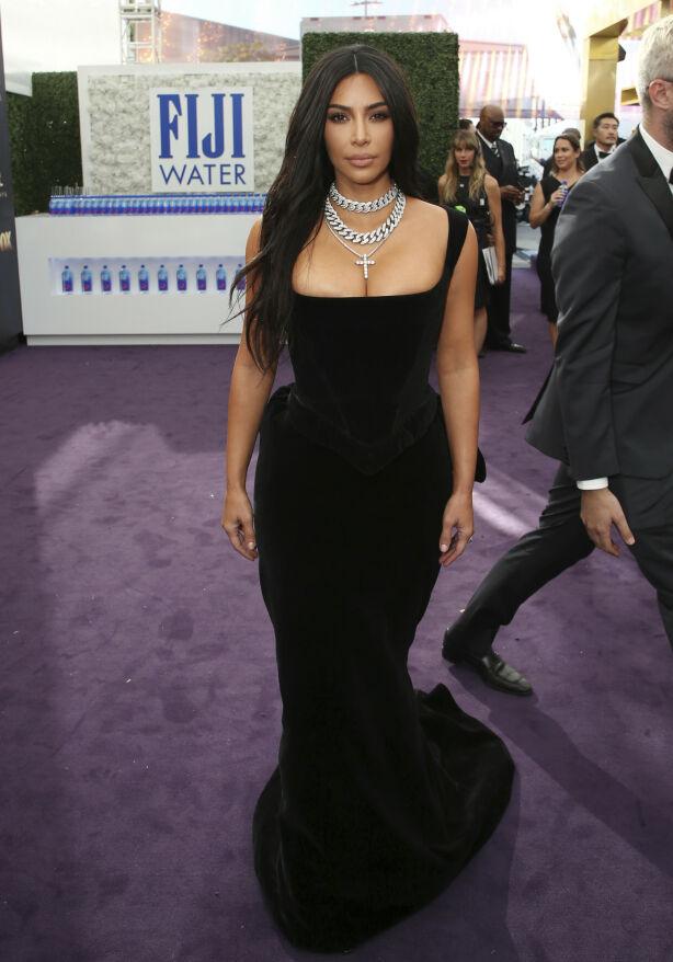 SORT: Kim Kardashian. Foto: NTB scanpix