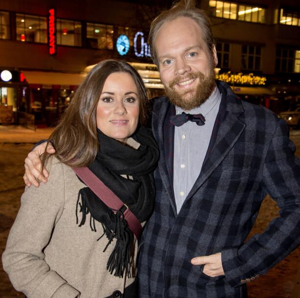 GÅTT HVER TIL SITT: Jon Niklas Rønning og Kristine Riis har vært et par siden 2017. I mars fikk de sitt første barn sammen. Foto: Tore Skaar