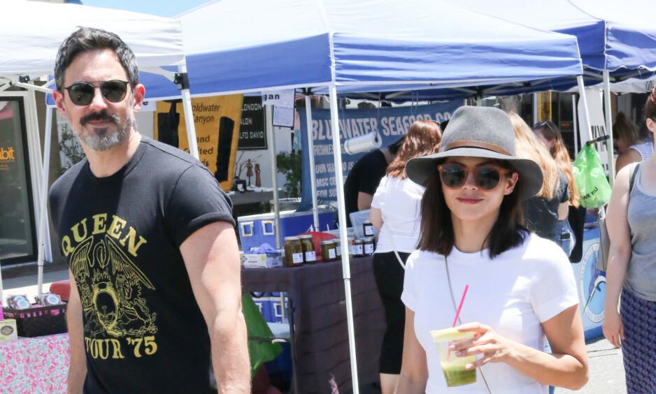 BLIR FORELDRE: Jenna Dewan og kjæresten Steve Kazee (t.v.) venter sitt første barn sammen. Foto: NTB Scanpix