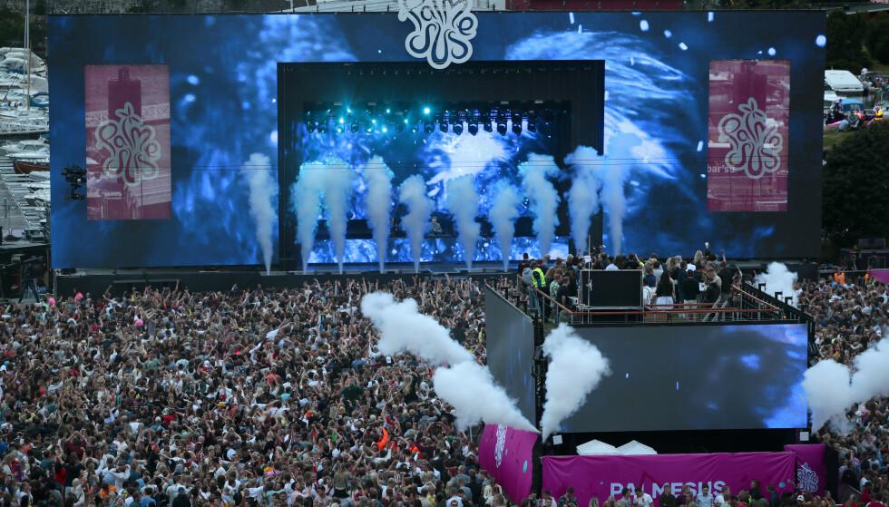 GJESTET NORGE: Dj Tiësto spilte på festivalen Palmesus i Kristiansand i sommer. Foto: Håkon Mosvold Larsen / NTB scanpix