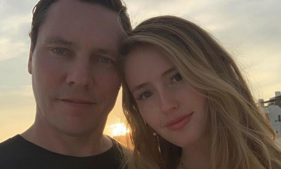 GIFTET SEG: Lørdag stod bryllupet mellom den nederlandske DJ-en Tiësto og kjæresten hans gjennom fire år, Annika Backes. Foto: Instagram / @tiesto