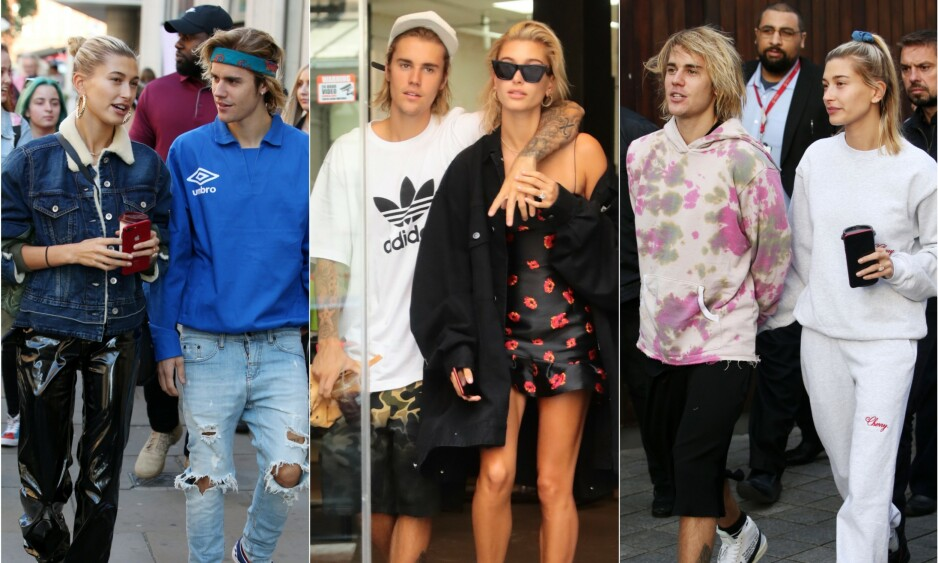 LYKKELIG GIFT: Justin Bieber og Hailey Baldwin har allerede vært gift i ett år. Men neste uke skal de angivelig holde bryllupsfest for familie og venner. Foto: NTB Scanpix