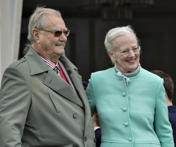 <strong>I GODE OG ONDE DAGER:</strong> Avdøde prins Henrik og dronning Margrethe var gift i 51 år. Foto: NTB Scanpix