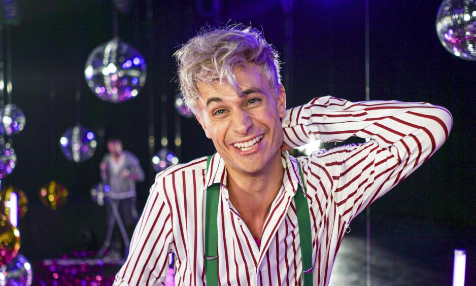 FAVORITT: Victor Sotberg har markert seg som en av favorittene i årets «Skal vi danse», og er tydelig på at han vil bruke den nye plattformen sin - nemlig danseparketten - til å spre gode og viktige budskap. Foto: TV 2 / NTB Scanpix
