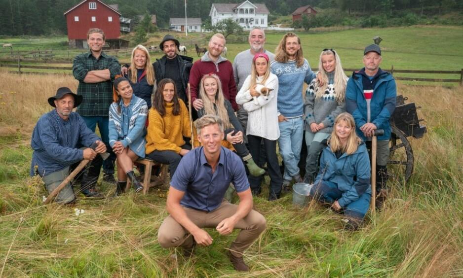BRUKTE TERPENTIN: Denne uka tar en av «Farmen»-deltakerne et drastisk grep i forsøk på å sabotere ukesoppdraget. Foto: TV 2 / Espen Solli