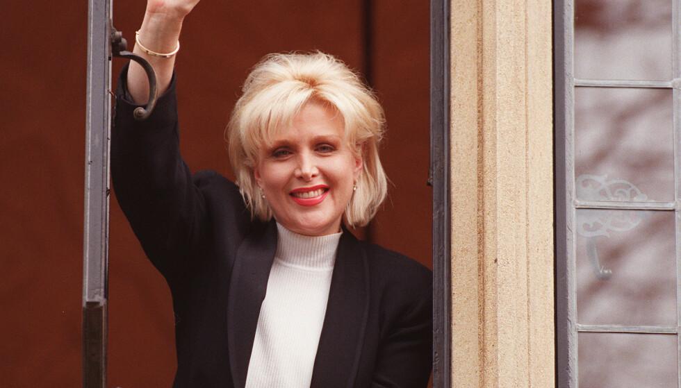 ANERKJENNELSEN: I 1998 bekreftet endelig presidenten at han og Flowers hadde hatt et seksuelt forhold. Her er hun fotografert året etter. Foto: NTB scanpix