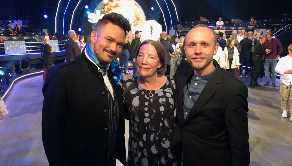 FIN GJENG: Mormoren til Tore Pettersons kjæreste hadde reist fra Stavanger for å se showet. Foto: Ruben Pedersen