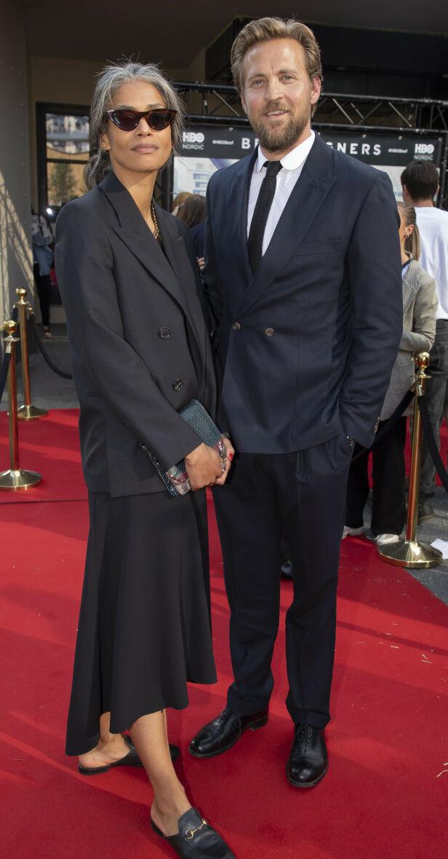 KJÆRESTER: Tobias Santelmann er kjæreste med tidligere VG-journalist Jennifer Bråthen. I 2015 fikk de datteren Alba sammen. Foto. Tore Skaar / Se og Hør