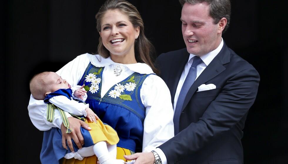 <strong>KONGELIG TITTEL:</strong> Da prinsesse Madeleines førstefødte, Leonore, ble født, var det ifølge Expressen Madeleine selv som ønsket at datteren skulle få kongelig tittel. Foto: NTB Scanpix