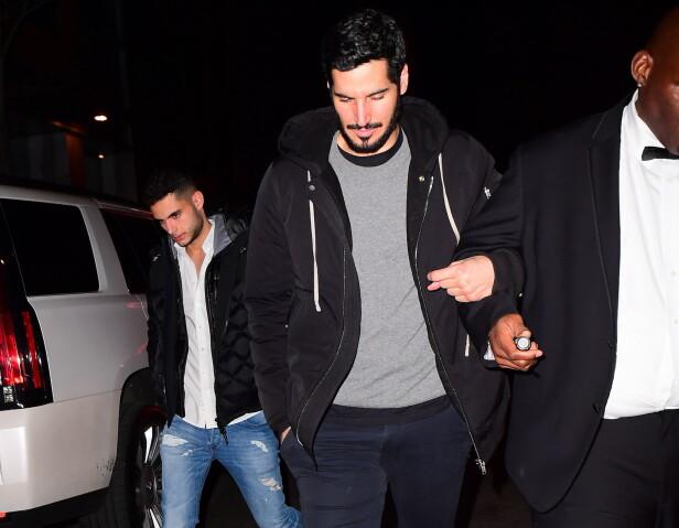 KJÆRESTEN: Det finnes ikke mange bilder av Hassan Jameel. Her er han avbildet i New York i januar i fjor. Foto: NTB Scanpix