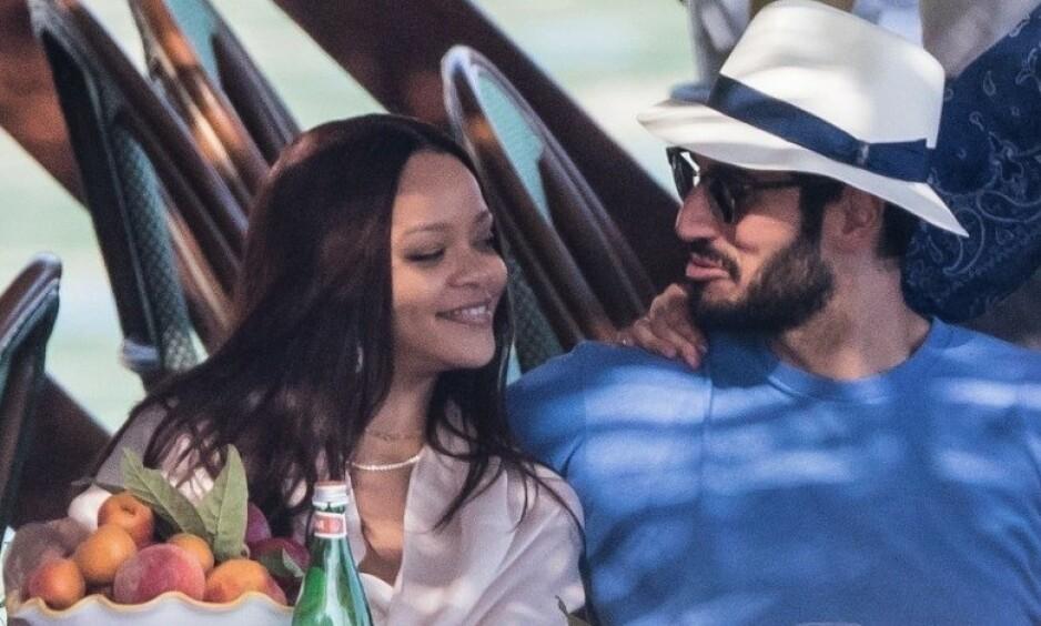 NYTT INTERVJU: Sangstjernen Rihanna avslører planer om flere barn i nærmeste fremtid. I januar ble det kjent at forholdet hennes til den saudiarabiske forretningsmannen Hassan Jameel (t.h.) hadde tatt slutt. Foto: NTB Scanpix