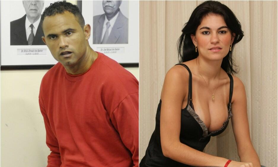 TILBAKE PÅ BANEN: Bruno Fernandes har sittet fengslet i ni år etter han innrømmet å ha bestilt drapet på eksen, modell Eliza Samudio. Nå er han tilbake på fotballbanen. Foto: NTB scanpix
