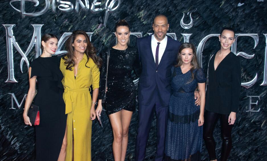 STJERNESPEKKET: John Carew dukket opp på den røde løperen for premiere av «Maleficent: Mistress Of Evil». Foto: NTB Scanpix