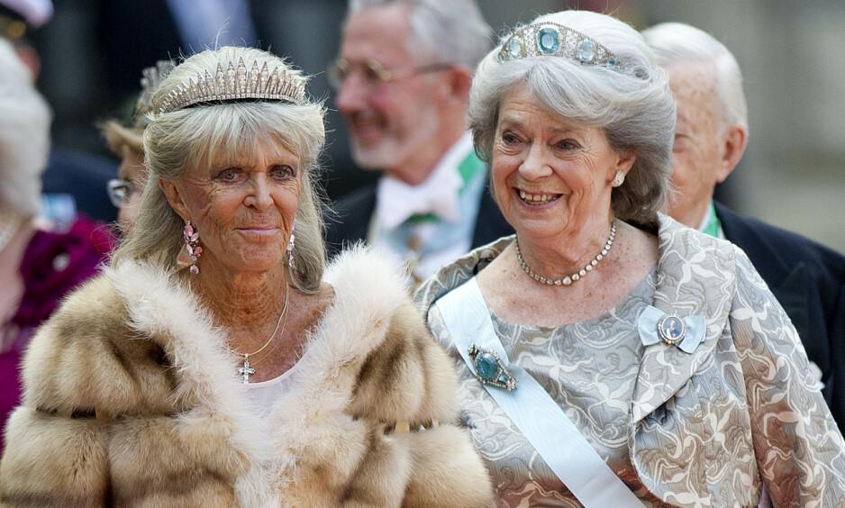 SØSTRENE SISTERS: Prinsesse Birgitta og prinsesse Margaretha er to av svenskekongens fire søstre. De har et nært bånd, men møtes sjelden. Nå avslører førstnevnte at drømmen om et nytt møte foreløpig er satt på vent. Foto: NTB scanpix
