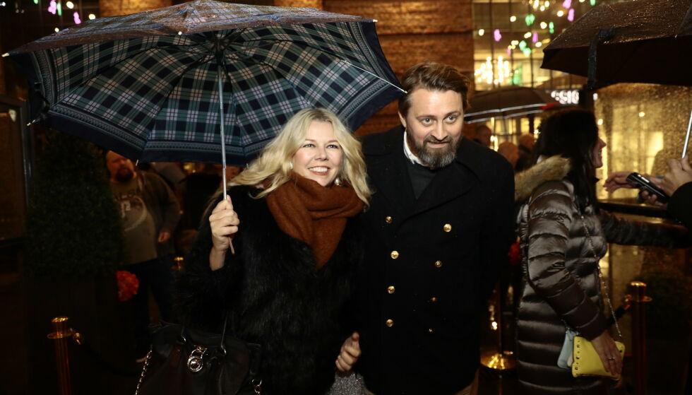 TROSSET VÆRET: Thomas Numme og kona Annette Walther Numme på Latter. Foto: Nina Hansen / Dagbladet