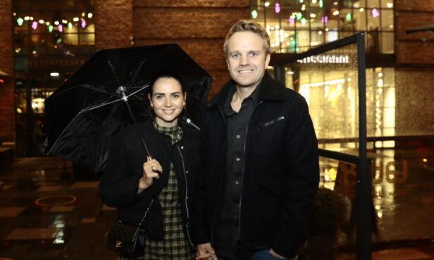 KOM MED KONA: Erik Solbakken sammen med kona Ellen Solbakken. Foto: Nina Hansen / Dagbladet