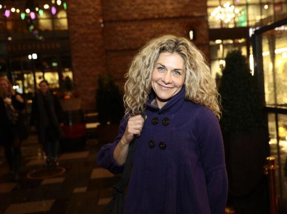 GODE VENNER: Cecilie Skog har laget mye tv sammen med Truls Svendsen. Hun var naturligvis en selvskreven gjest. Foto: Nina Hansen / Dagbladet