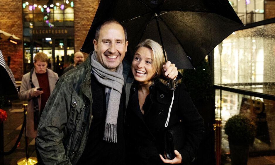 BARNEFRI: Harald Rønneberg og kona Sølvi Haugland hadde barnefri og var klare for premiere onsdag kveld. Foto: Nina Hansen / Dagbladet