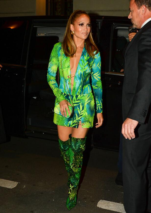 HØY SUM: Jennifer Lopez ble saksøkt for en skyhøy sum etter å ha postet bilder hun ikke hadde rettighetene til. Foto: NTB Scanpix