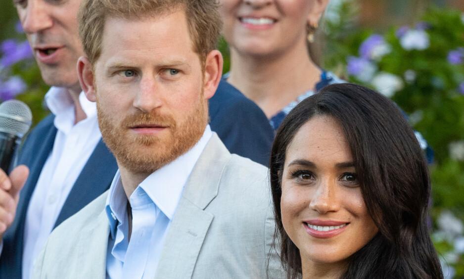 <strong>REISER BORT:</strong> Prins Harry og hertuginne Meghan skal ha behov for mer familietid. Foto: NTB Scanpix