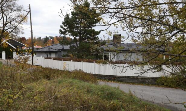 VILLA: Den tidligere golfspilleren og ektemannen punget ut nærmere 40 millioner kroner for denne boligen på Holmen. Foto: Thomas Hoff