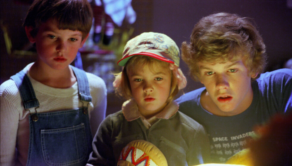 PANGSTART PÅ KARRIEREN: Alle de tre barnstjernene fikk en pangstart på karrieren med klassikeren. Her er de i en scene fra filmen. Foto: NTB Scanpix