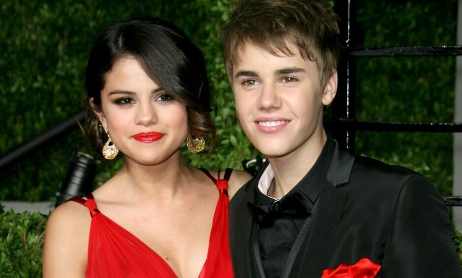 SKRÅSIKRE: Selena Gomez sin nye kjærlighetsballade får Twitter til å koke. Fansen er nemlig overbevist om at stjernen synger om av-og-på-forholdet til ekskjæresten Justin Bieber. Foto: NTB Scanpix