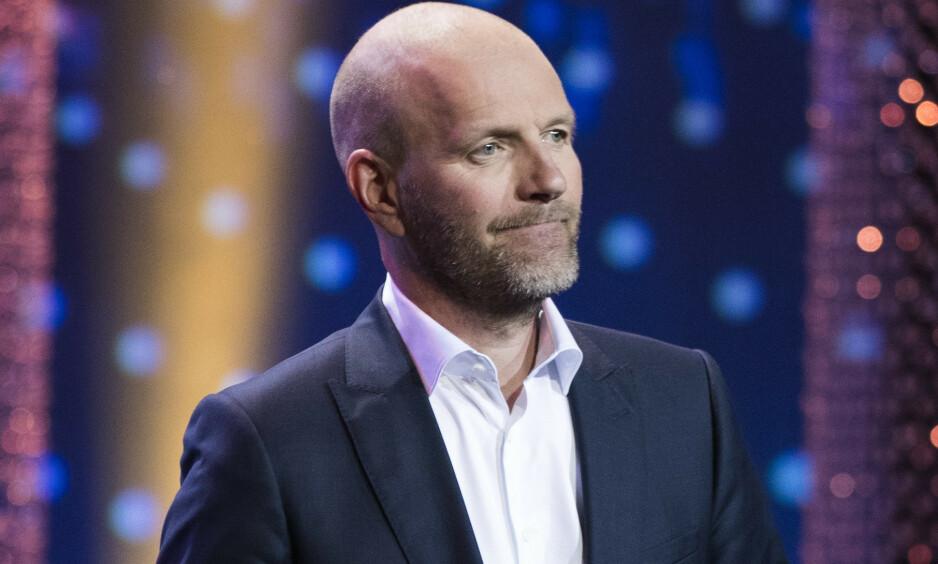 PANIKK: Bård Tufte Johansen avslører i en podkast at han fikk et panikkanfall i forkant av premieren på sitt nye show. Foto: NTB Scanpix