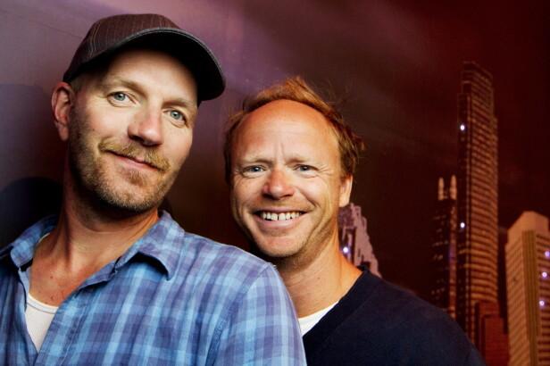 PSYKISK KNEKK: I 1997 gikk Bård Tufte Johansen på en psykisk smell. Det var et par år etter at han og Harald Eia hadde slått gjennom med serien «Lille lørdag». Her er kollegene avbildet sammen i 2010. Foto: NTB Scanpix