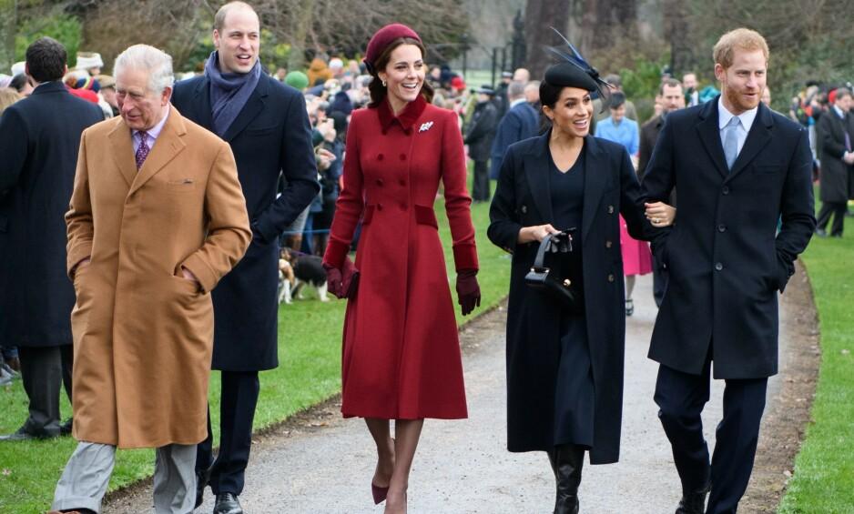 RASER: Prins Charles raser angivelig mot sine to sønner for at konflikten dem imellom har tatt oppmerksomheten bort fra det viktige arbeidet de andre kongelige gjør. Foto: NTB Scanpix