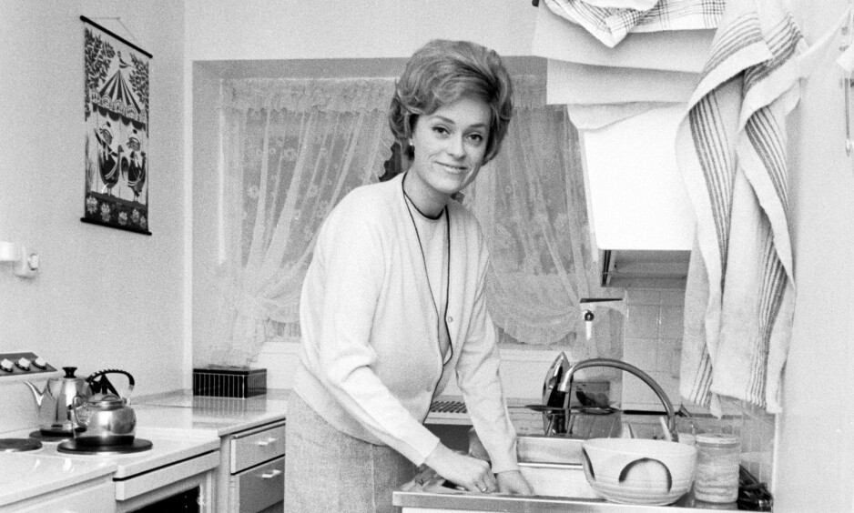 GIKK BORT: Tidligere NRK-profil Kristin Johnson er død, 78 år gammel. Foto: NTB Scanpix