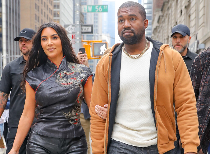 OVERRASKET: Kim Kardashian West fikk en bursdagsgave av ektemannen Kanye West som mange bare kan drømme om. Nå forteller hun hvor mye det betydde for henne. Foto Felipe Ramales / Splash News/ NTB