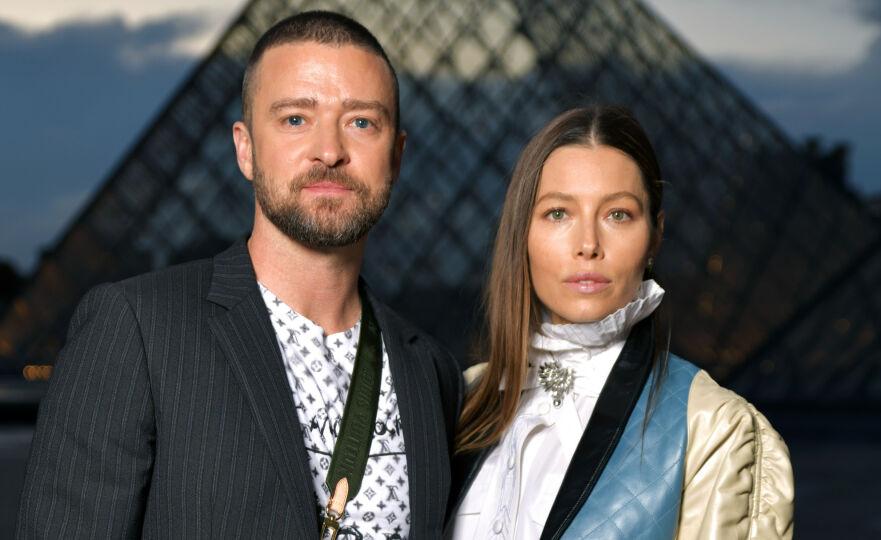 MASSIV OPPMERKSOMHET: Justin Timberlake og Jessica Biel deler begge bilder fra halloween. Kostymene deres tar av på Instagram. Foto: NTB Scanpix