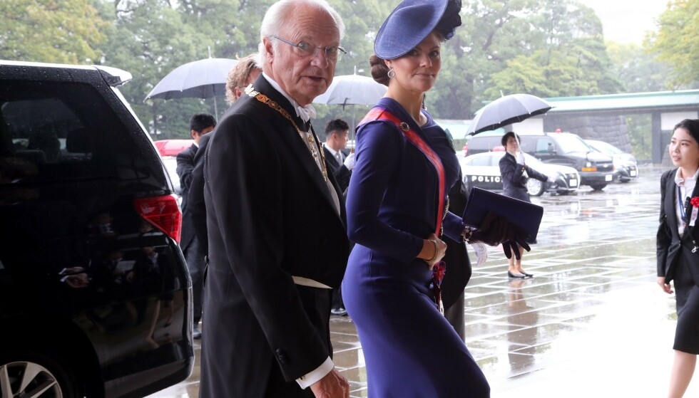<strong>JAPAN:</strong> Forrige uke var kronprinsessen på besøk i Japan, da keiser Naruhito skulle krones. Foto: NTB scanpix