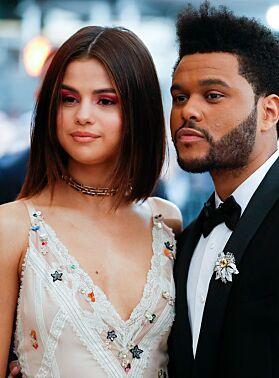 EKS: Selena Gomez og The Weeknd var sammen i en periode for noen år siden. Foto: NTB scanpix