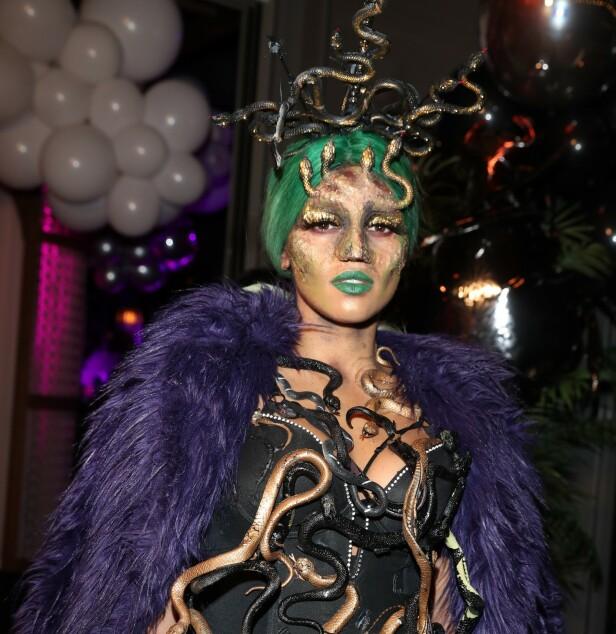 MEDUSA: Alexandra Joner arrangerer i år halloweenfest for tredje år på rad. Foto: Andreas Fadum / Se og Hør