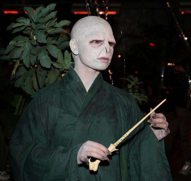 VOLDEMORT: Jorun Stiansen levde seg inn i rollen som Voldemort. Foto: Andreas Fadum / Se og Hør