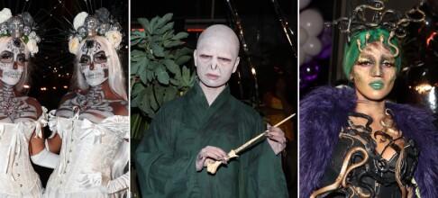 Brukte ti timer på halloween-kostymet